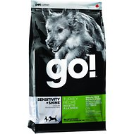 Go! Sensitivity + Shine Grain-Free Turkey Recipe Dry Dog Food, 25-lb bag