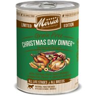 Merrick Seasonal Grain-Free Christmas Day Dinner Recipe Canned Dog Food, 12.7-oz, case of 12