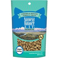 Natural Balance L.I.T. Limited Ingredient Treats Chicken & Potato Formula Cat Treats, 2-oz bag
