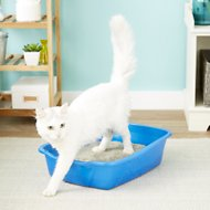 Van Ness Cat Litter Pan, Blue, Large