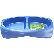 Van Ness Lightweight Double Pet Dish, Small