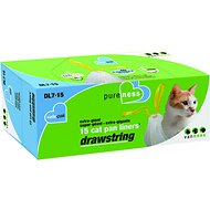 Van Ness Drawstring Cat Pan Liners, X Giant, 15 count