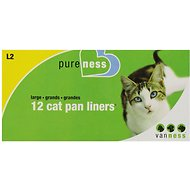Van Ness Cat Pan Liners, Large, 12 count