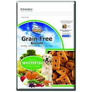 NutriSource Grain-Free Biscuits Whitefish with Fruits & Vegetables Crunchy Dog Treats, 14-oz bag