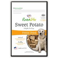 PureVita Sweet Potato Freeze-Dried Dog Treats, 3-oz bag