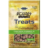 Natural Planet Chicken Formula Soft & Moist Dog Treats, 5-oz bag