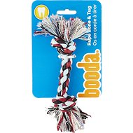 Booda Multi Color 2-Knot Rope Bone Dog Toy, X-Small