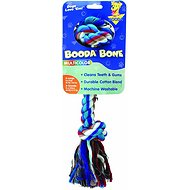 Booda Multi Color 2-Knot Rope Bone Dog Toy, X-Large