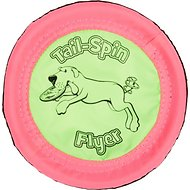 Booda Soft Bite Tail Spin Flyer Floppy Disc Dog Toy, Small