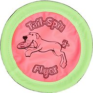 Booda Soft Bite Tail Spin Flyer Floppy Disc Dog Toy, Medium