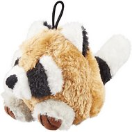 Booda Squatter Small Raccoon Plush Dog Toy
