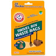 Arm & Hammer Swivel Bin Waste Bags, 20-count