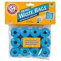 Arm & Hammer Disposable Waste Bag Refills, Blue