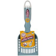 Arm & Hammer Deluxe 2-In-1 Litter Scoop with Waste Bags, Color Varies, Scoop, 12-bags