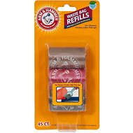 Arm & Hammer Litter Scoop Waste Bag Refills, 45-count