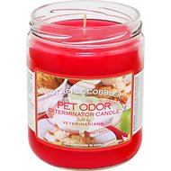 Pet Odor Exterminator Hot Apple Cobbler Deodorizing Candle, 13-oz jar