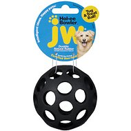 JW Pet Hol-ee Bowler Dog Toy, Small