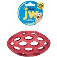 JW Pet Hol-ee Football Dog Toy, Color Varies, Medium