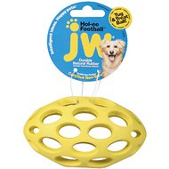 JW Pet Hol-ee Football Dog Toy, Color Varies, Small