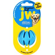 JW Pet Megalast Ball Dog Toy, Small
