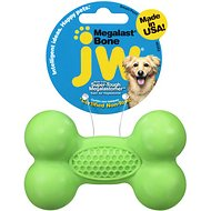 JW Pet Megalast Bone Dog Toy, Color Varies, Small