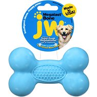 JW Pet Megalast Bone Dog Toy, Color Varies, Medium