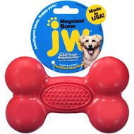 JW Pet Megalast Bone Dog Toy, Color Varies, Large