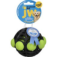 JW Pet Arachnoid Ball Dog Toy, Color Varies, Medium