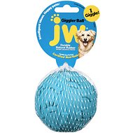 JW Pet Giggler Ball Squeaky Dog Toy, Color Varies, Large