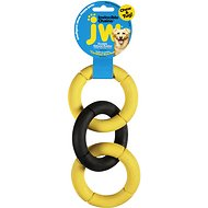 JW Pet Invincible Chains Triple Dog Toy, Color Varies, Small