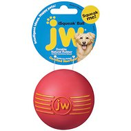 JW Pet iSqueak Ball Dog Toy, Medium