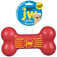 JW Pet iSqueak Bone Dog Toy, Color Varies, Large