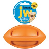 JW Pet iSqueak Funble Football Dog Toy, Color Varies, Medium