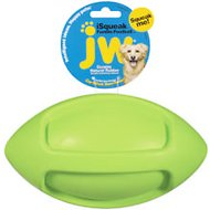 JW Pet iSqueak Funble Football Dog Toy, Color Varies, Large