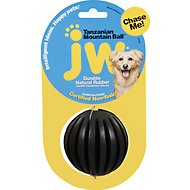 JW Pet Tanzanian Mountain Treat Ball Dog Toy, Color Varies, Medium