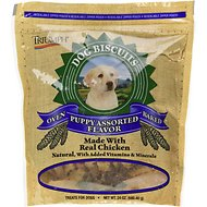 Triumph Assorted Flavors Puppy Biscuits Dog Treats, 24-oz bag