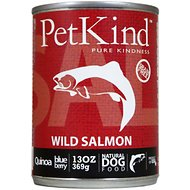 PetKind That's It! Wild Salmon Grain-Free Canned Dog Food, 13-oz, case of 12