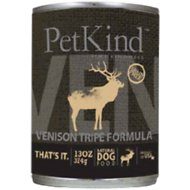 PetKind That's It! Venison Tripe Formula Grain-Free Canned Dog Food, 13-oz, case of 12
