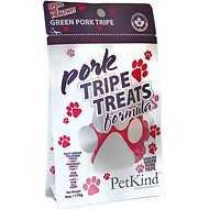 PetKind Grain-Free Green Pork Tripe Formula Dog Treats, 6-oz bag