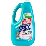 Simple Solution Oxy Charged Stain & Odor Remover, 1-gal bottle
