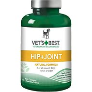 Vet's Best Level 1 First Step Hip + Joint Dog Supplement, 90 count