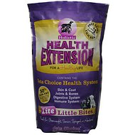 Health Extension Lite Little Bites Dry Dog Food, 18-lb bag