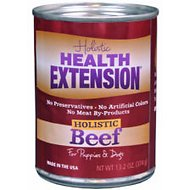 Health Extension Meaty Mix Beef Grain-Free Canned Dog Food, 13.2-oz, case of 12
