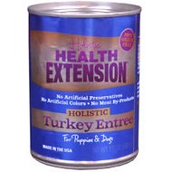 Health Extension Turkey Entree with Sweet Potatoes Grain-Free Canned Dog Food, 13.2-oz, case of 12
