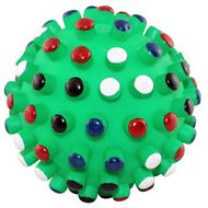 Ethical Pet Gumdrop Ball Dog Toy, 5-inch (Color Varies)