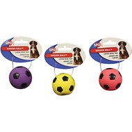 Ethical Pet Latex Soccer Ball Dog Toy, 2-inch (Color Varies)