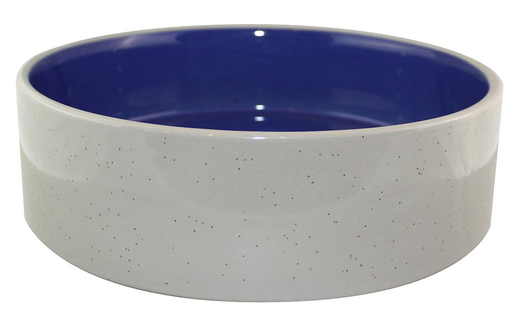 Ethical Pet Stoneware Crock Pet Dish 9 5 Inch Chewy Com
