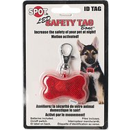 Ethical Pet LED Safety Tag Bone Shape ID