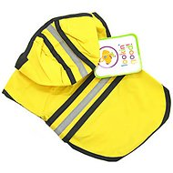 Ethical Pet Fashion Lookin' Good Rainy Days Slicker Raincoat, Yellow, X-Large