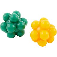 Ethical Pet Atomic Rubber Bouncing Ball Cat Toy, 2-pack